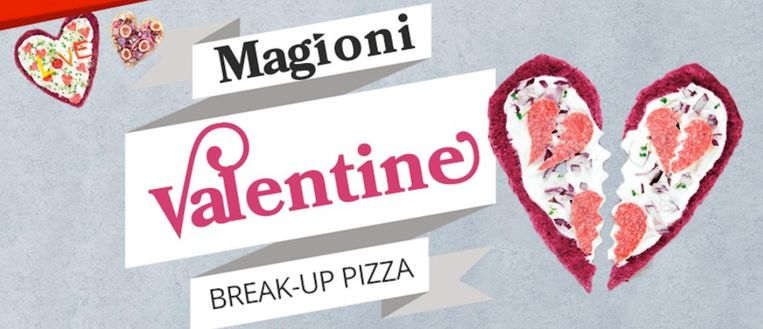 De hartenbreker pizzabodem is helaas al uitverkocht Beeld Magioni