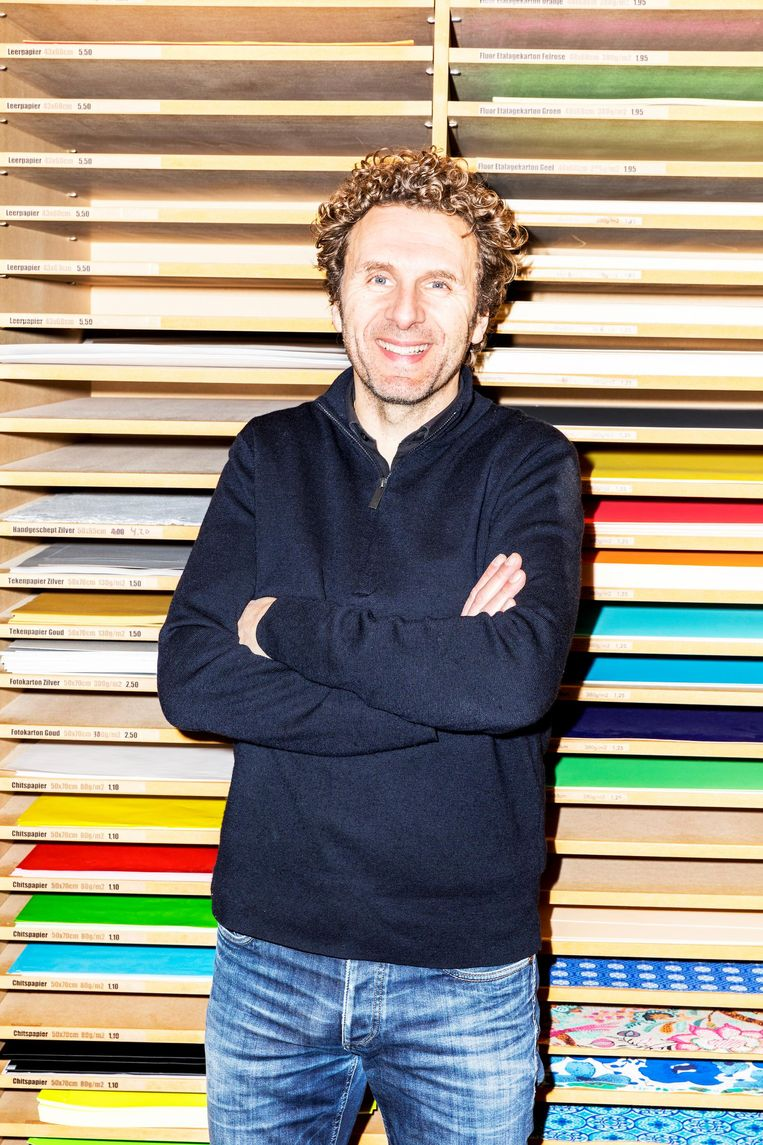 Bedrijfsleider Mick Lemminga Beeld Marie Wanders