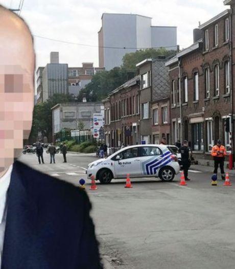 Les jours du policier touché par balles à Liège toujours en danger, l'agresseur connu de la justice