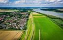 De locatie waar het zonnepark in de Buitenzomerlanden moet komen.