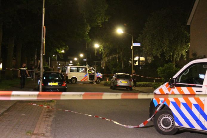 De politie heeft vannacht buurtonderzoek gedaan.