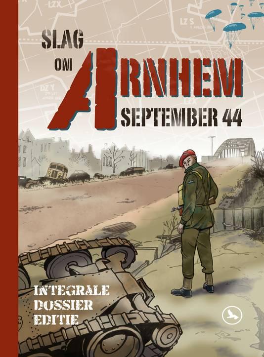 De Slag om Arnhem verteld in stripvorm door Hennie Vaessen.