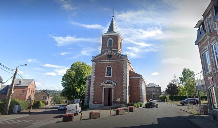 L'église de La Minerie (Thimister).