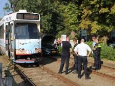 Aanrijding tussen auto en tram in Rijswijk