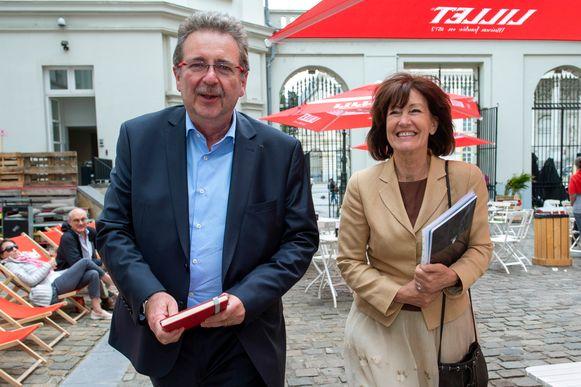 Huidig (en wellicht ook toekomstig) minister-president Rudi Vervoort en Laurette Onkelinx (allebei PS).
