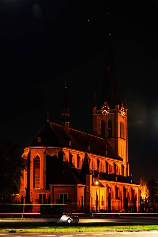 De katholieke kerk van Beuningen.