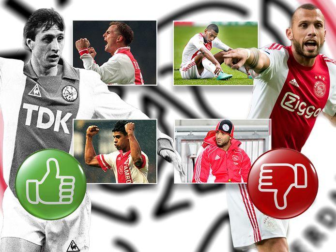 Top en flop na rentree bij Ajax: van Rijkaard tot Mido