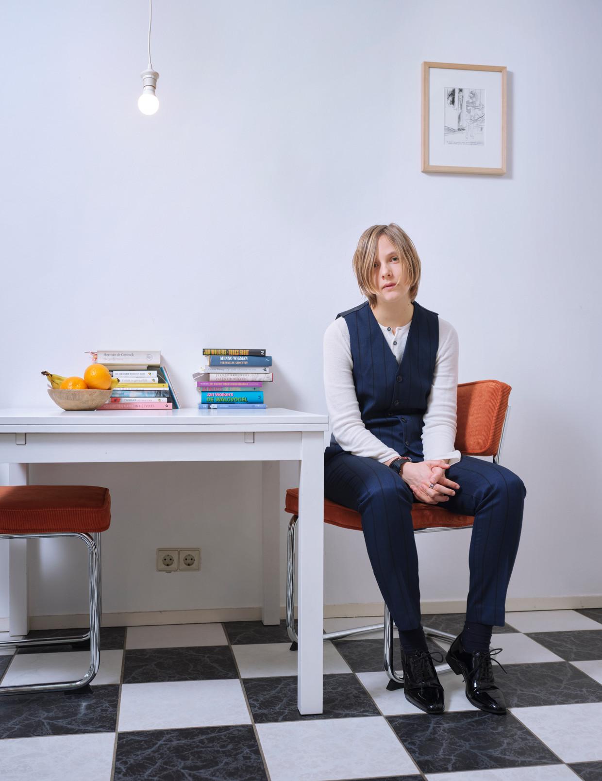 Marieke Lucas Rijneveld. Beeld Eric Smits Humo 2020