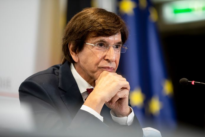 Le ministre-président wallon Elio Di Rupo (PS).