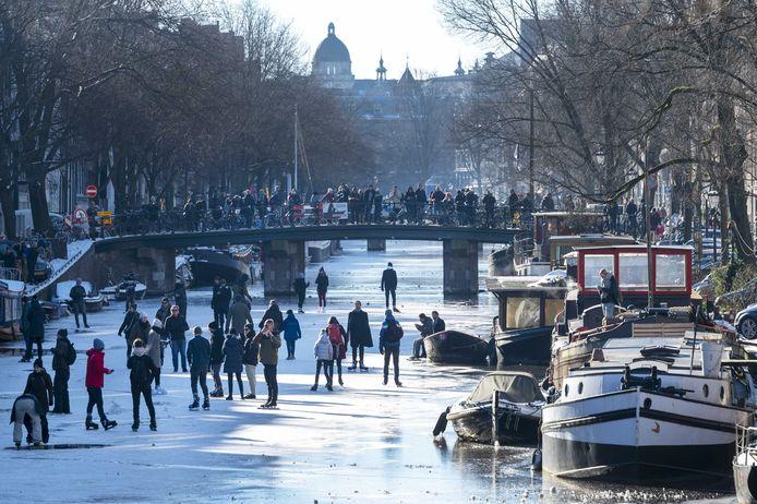 De Prinsengracht in Amsterdam.