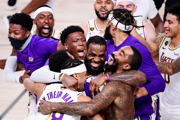 LA Lakers. Beeld AFP