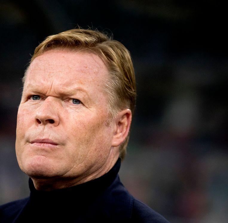 Koeman heeft afspraak met KNVB over Barcelona