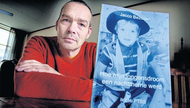 Jacco Bezuijen schreef een boek over PTSS. 'Ik hoop dat het anderen helpt.'