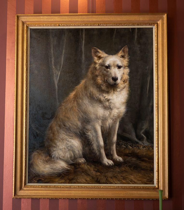 Het staatsieportret van Nansen. Beeld NOFO film Nansen