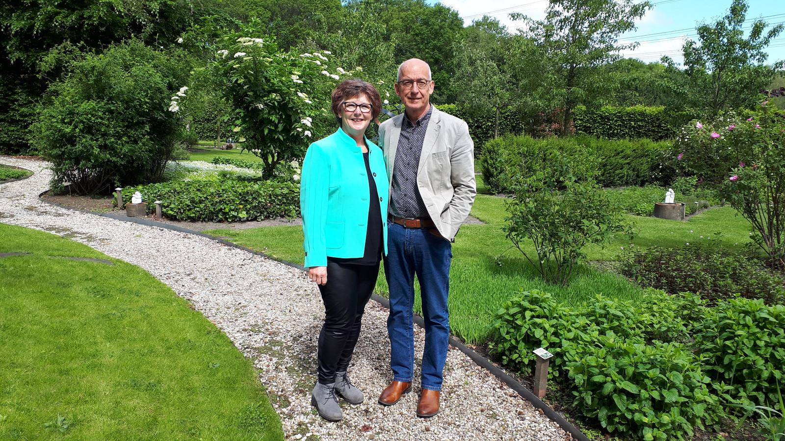 Gerdien en Wim Boom van landgoed De Barkel.