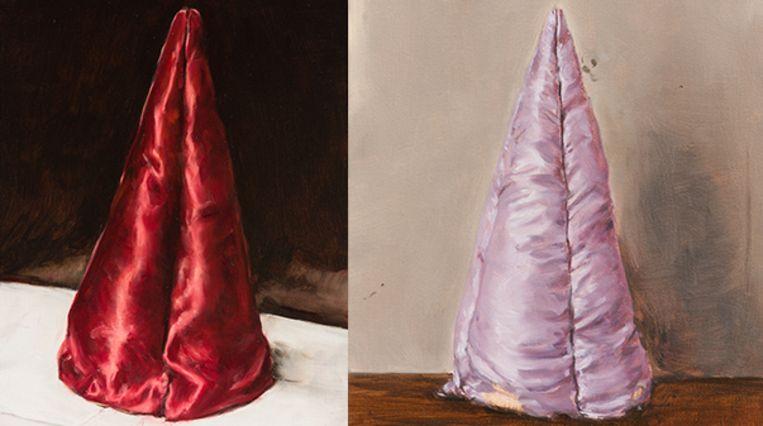 Nieuw werk van Michaël Borremans in galerie Zeno X in Antwerpen. Beeld borremans