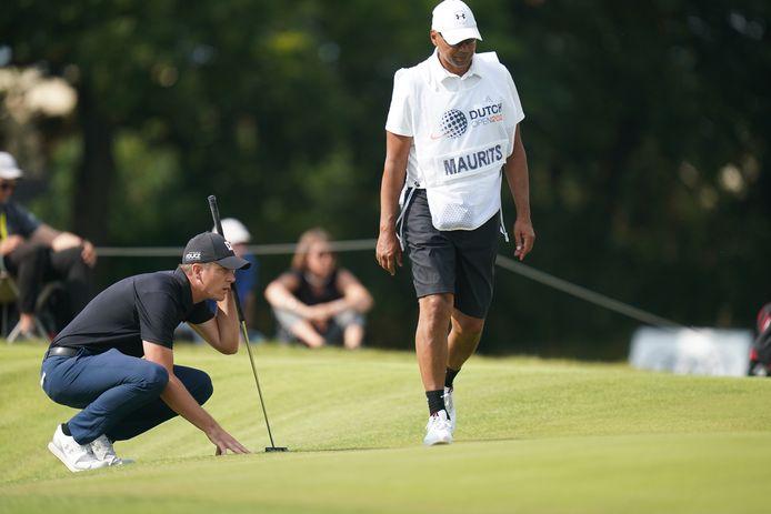 Sven Maurits begint als beste Nederlander aan het beslissende deel van de Dutch Open.