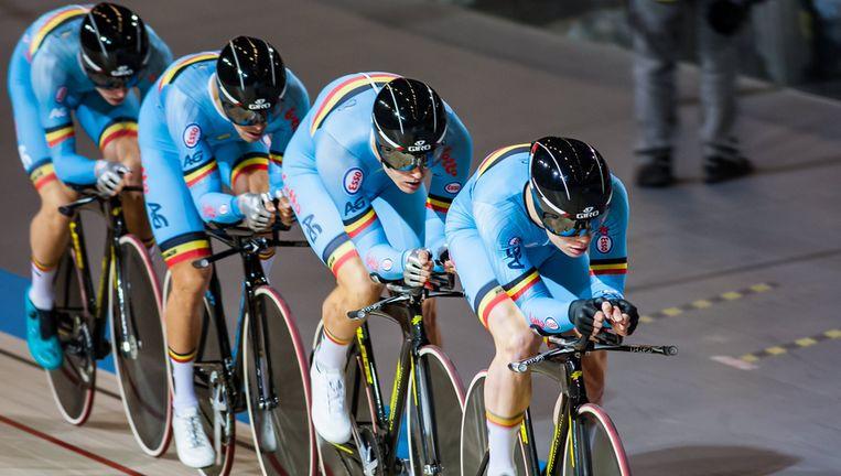 null Beeld Twitter Belgian Cycling Team