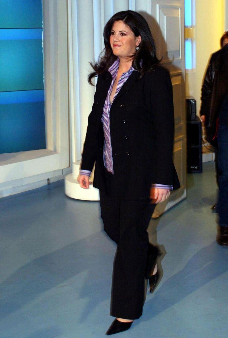 Monica Lewinsky in 2002. Beeld epa