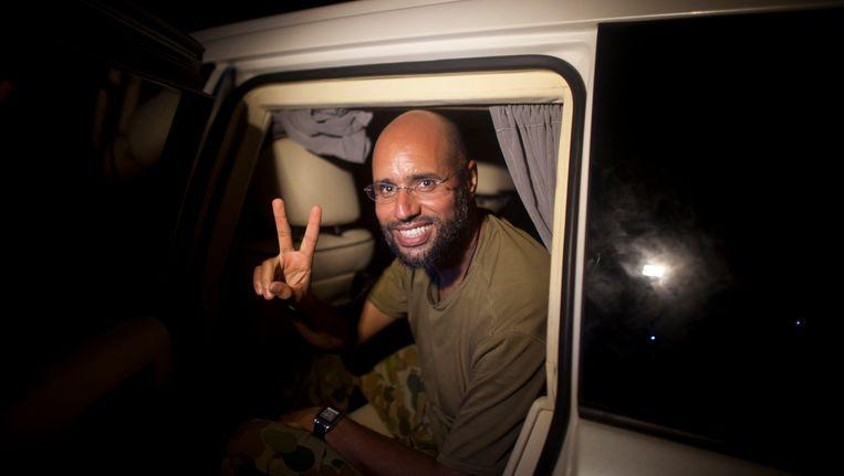 Saif al-Islam Kadhafi Beeld AFP