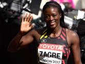 """Malgré son élimination sur 100m haies, Anne Zagré reste positive: """"Rien à me reprocher"""""""