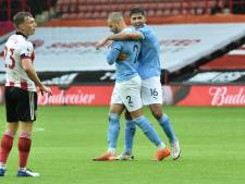 Uitgerekend Walker helpt City langs Sheffield United