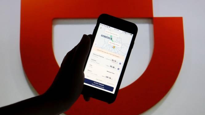 China beschuldigt taxi-app Didi van illegaal verzamelen data