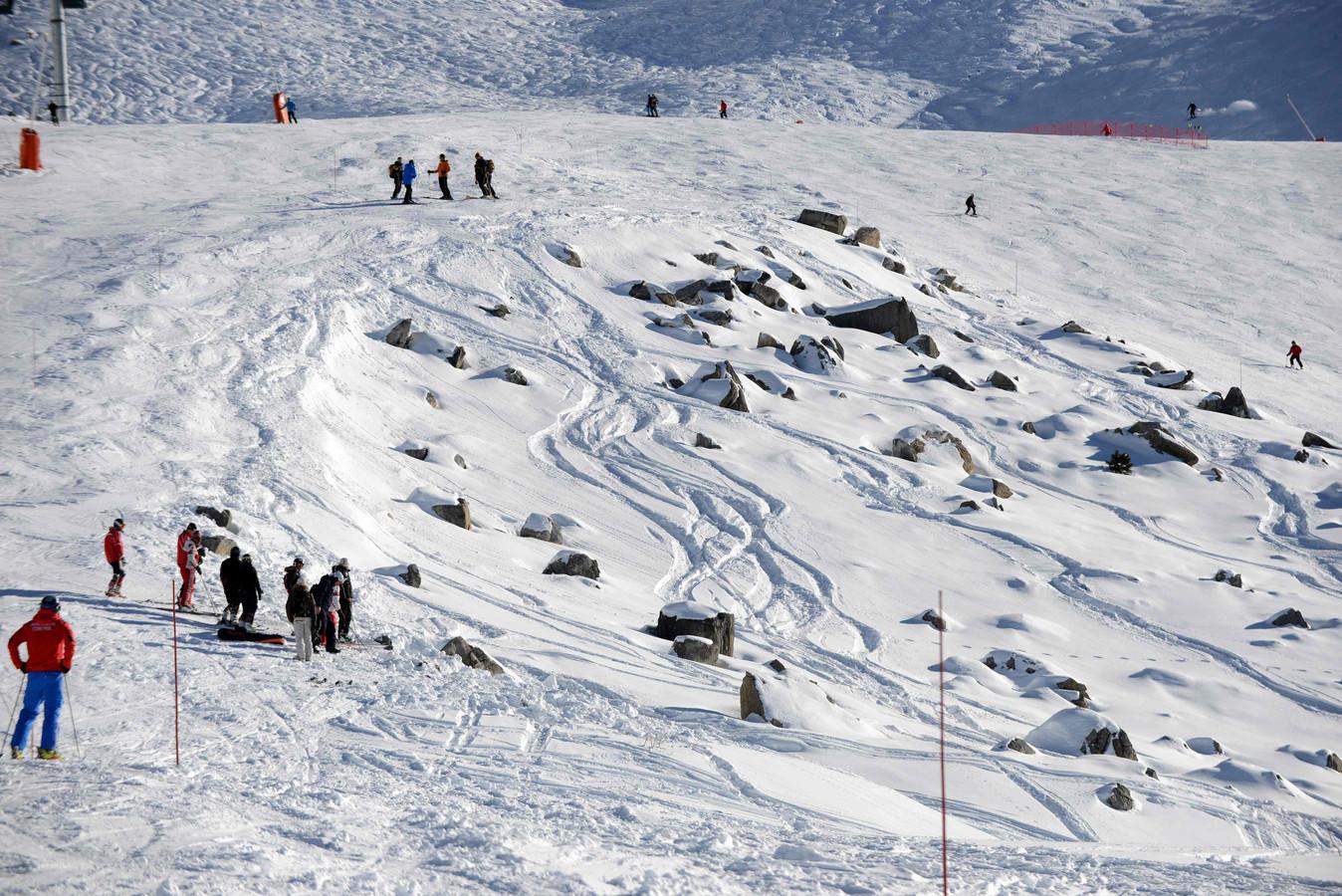 Les pistes de Méribel, où Michael Schumacher a lourdement chuté le 29 décembre 2013.