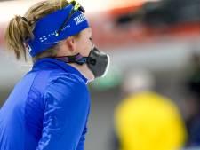 Door astma geplaagde Lotte van Beek start tegen beter weten in op 1500 meter