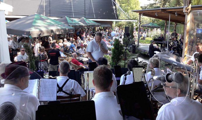 Valley Sound Big Band op het eigen Big Band festival bij Sieben op De Stok.