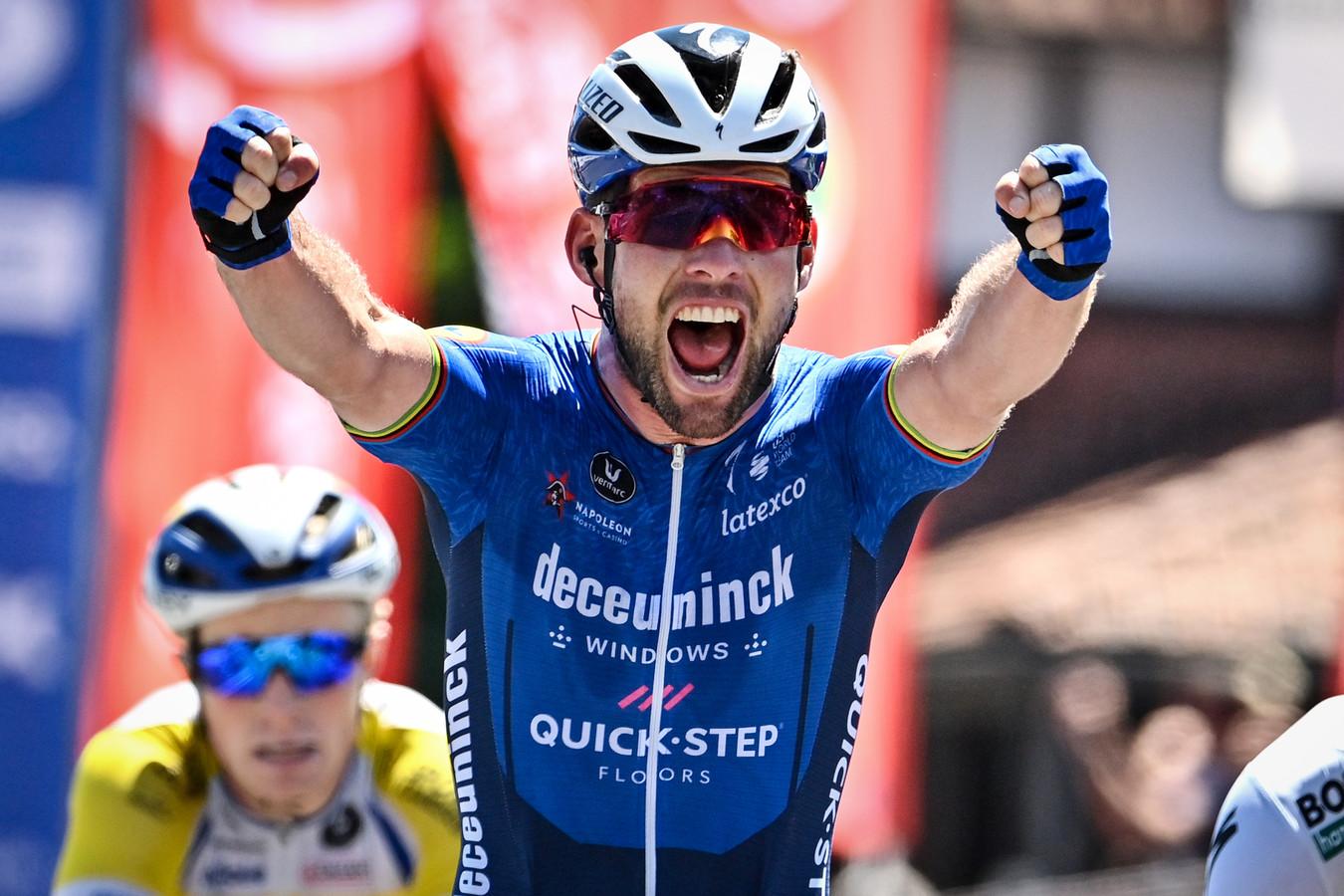 Mark Cavendish won deze maand een rit in de Ronde van België.