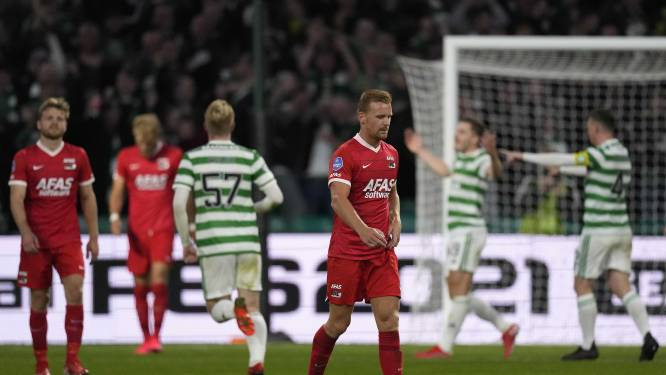Hoofdtoernooi Europa League ver weg voor AZ na nederlaag bij Celtic