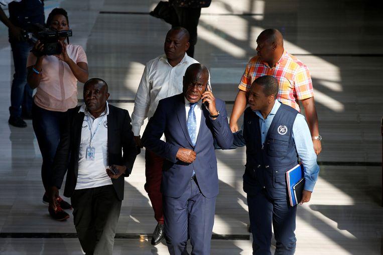 Martin Fayulu, een van de oppositiekandidaten.