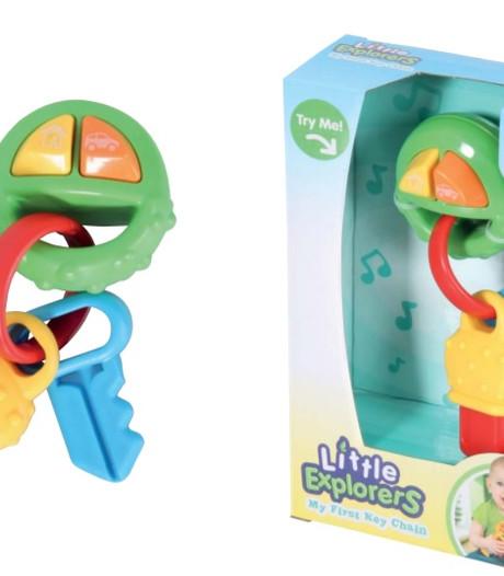 Verstikkingsgevaar voor kinderen: Van Cranenbroek haalt gevaarlijke speelgoedsleutels uit schappen