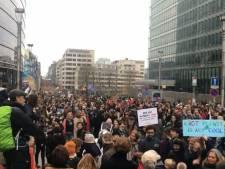 Tienduizenden bij 'grootste klimaatmars ooit' door Brussel