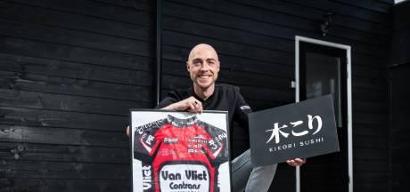 Ex-wielerprof Bas wordt sushichef: 'Enter kan toch niet achterblijven?'