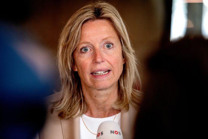 D66-minister Kajsa Ollongren van Wonen (Binnenlandse Zaken).