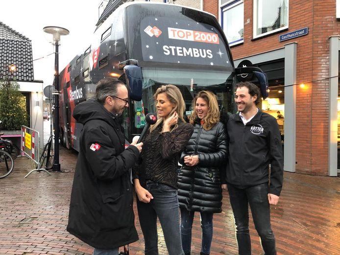 Top 2000 stembus in Oldenzaal