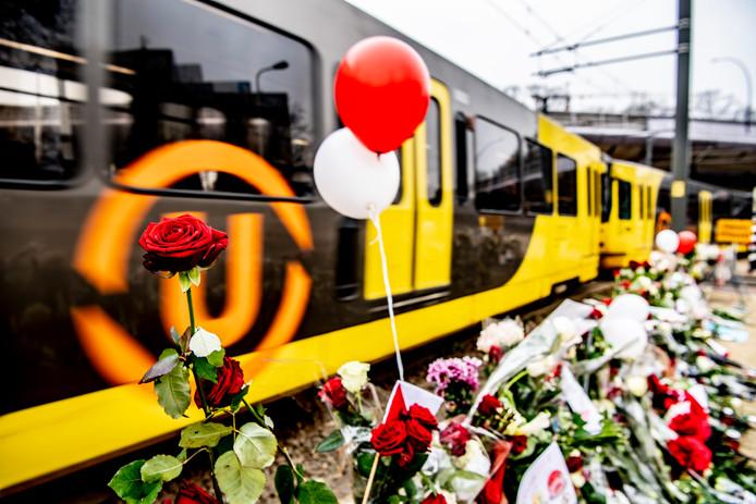 Bloemenzee in Utrecht op de plek waar Gökmen Tanis een aanslag pleegde in een tram.