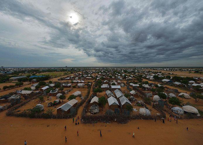 De oostelijke sector van het vluchtelingenkamp Dadaab.