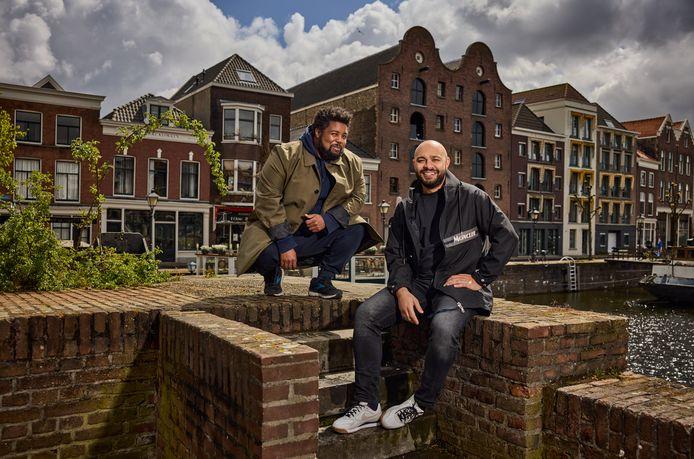 Uriah Arnhem en Issam Yagoub willen een street art-museum realiseren in de Dubbelde Palmboom in Delfshaven.