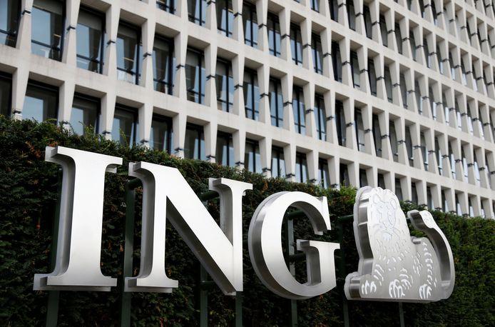 Het hoofdkantoor van ING in Brussel.