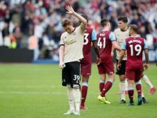 Manchester United onderuit tegen West Ham United