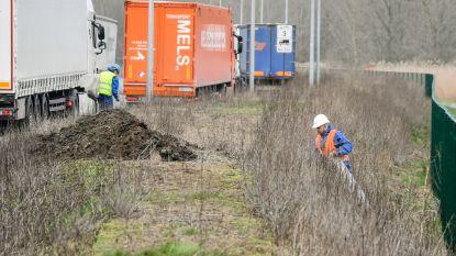 Opruimactie zwerfvuil langs omleidingsweg gestart: VPK zet zelf personeel in