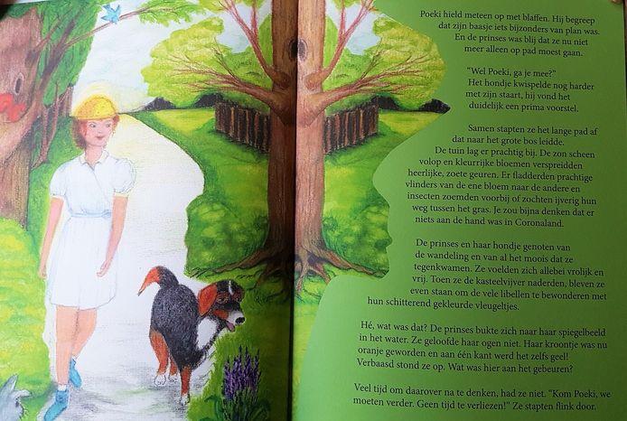 Alle tekeningen werden door Betty zelf gemaakt.