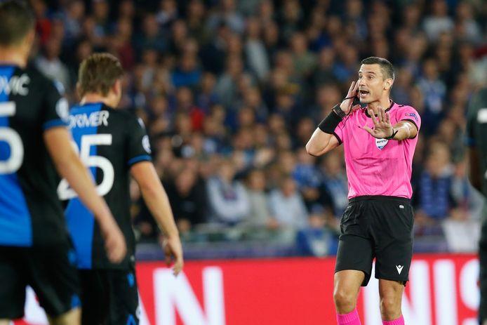 Slavko Vincic floot ook Club Brugge-Galatasaray AS