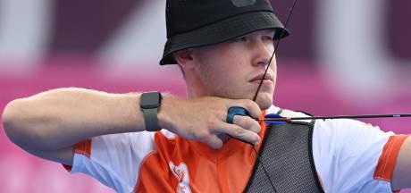 Handboogschutter Broeksma uit Ruinen na shoot-off uitgeschakeld op Spelen