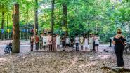 Geen walking dinner, maar ceremonie in bos voor afscheid zesdeklassers basisschool Vierhuizen