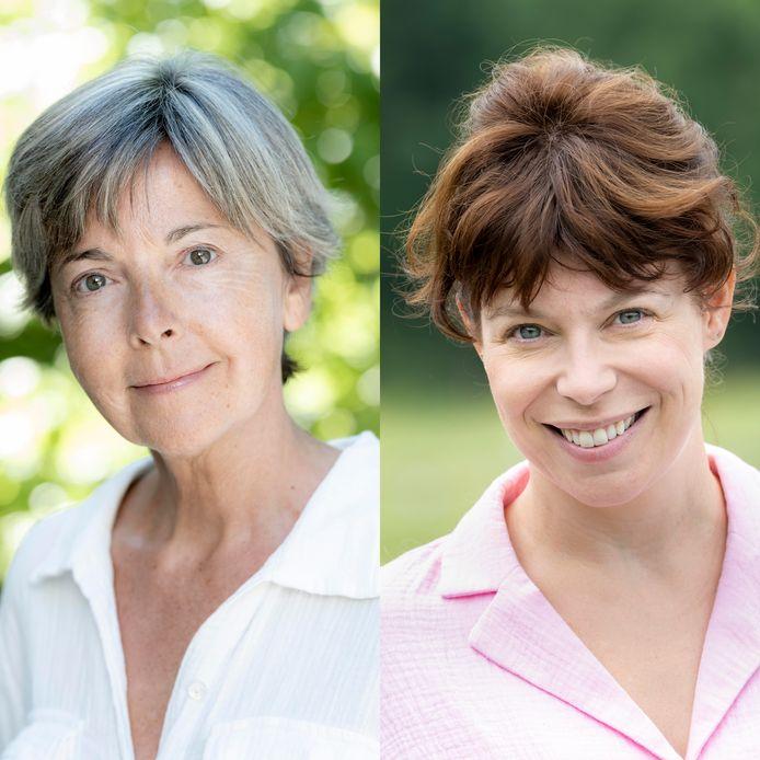 Onder andere Ingeborg en Evy Gruyaert poseren in Story zonder make-up.