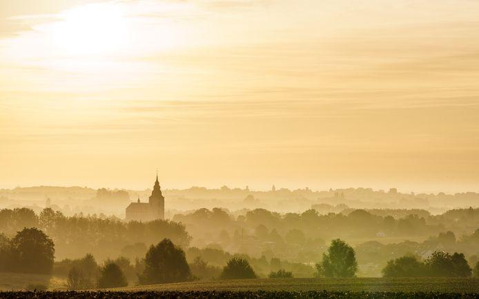 De Grenzeloze Getevallei nabij Hoegaarden.